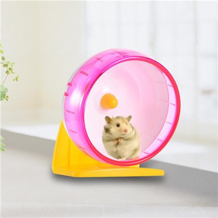 Hamster na Roda de Correr