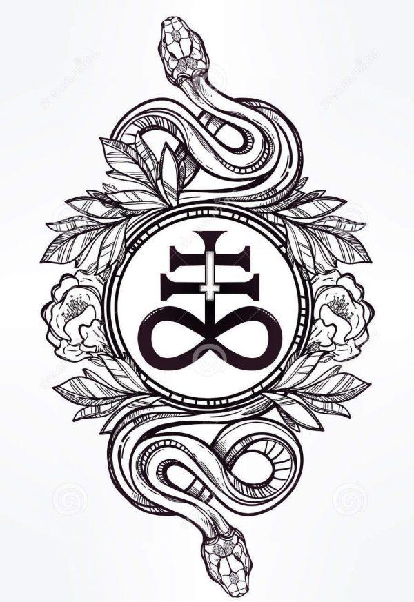 Serpente Satanismo