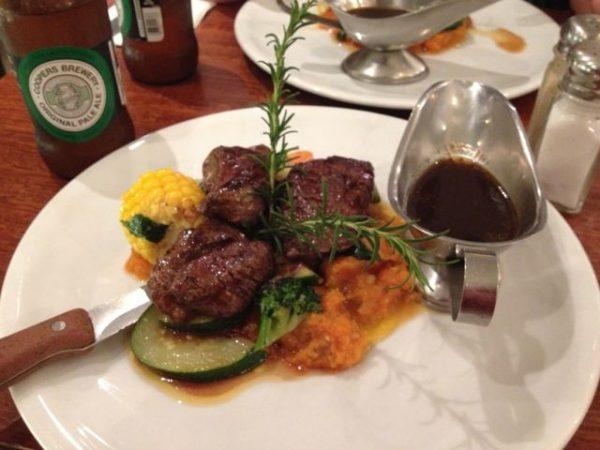 Carne de Canguru em Restaurantes