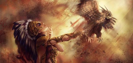 Coruja e Atena Mitologia
