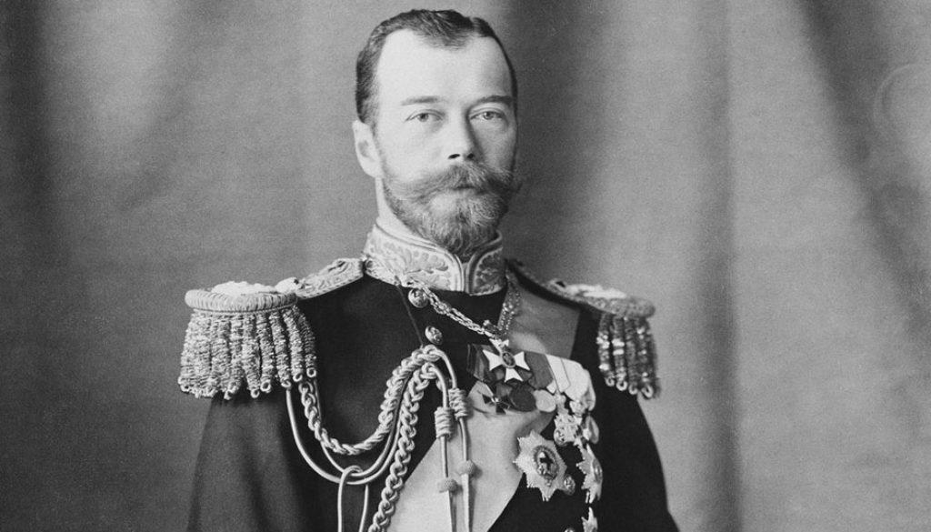 Czar do Império Russo Nicolau II