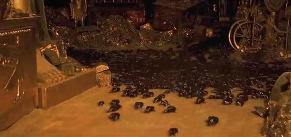 Escaravelho a Mumia