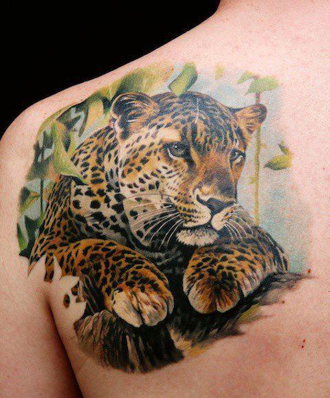 Tatuagem De Onca Fotos E Significado Tattoo Portal Dos Animais
