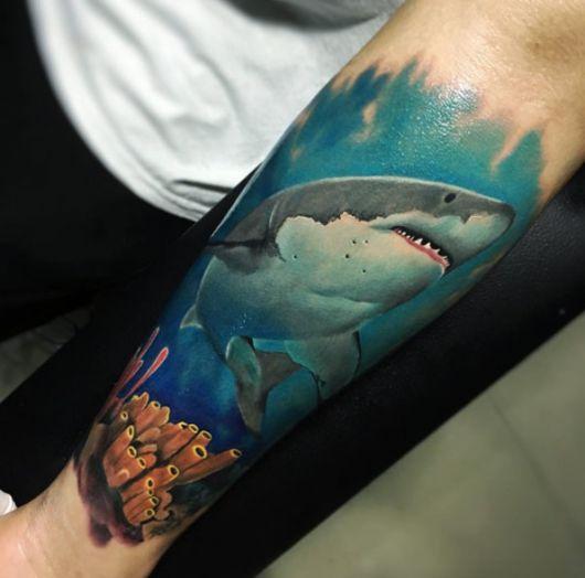 Tatuagem De Tubarão Fotos E Significado Tattoo Portal